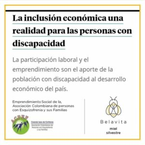La inclusión económica una realidad para las personas con discapacidad